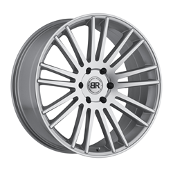 Black Rhino Truck Wheels - the Kruger in silver with mirror cut face