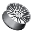 Black Rhino Truck Wheels- the Kruger in silver with mirror cut face