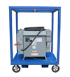 Portable Power Transformer Substation that Converts 480 VAC to 120 and 240 VAC