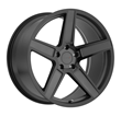 TSW Alloy Wheels- Ascent in matte gunmetal with gloss black face
