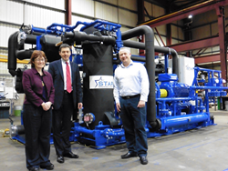 MSPs visit Star Refrigeration factory to launch E.ON heat pump