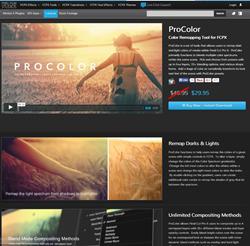 Pixel Film Studios ProColor Plugin.