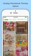 Winkflash Same Day Photobooks theme selection screen