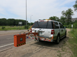 Infrasense Scans Highway Pavement in Minnesota Using High Speed Ground Penetrating Radar
