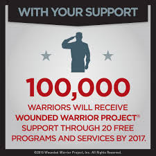 Pledging to match $20,000 in donations to the Wounded Warrior Foundation
