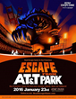 """Escape from AT&T Park"" Live Event Invites Players to the Field in January 2016"