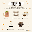 Top 5 Trending At-Home Entertaining Essentials