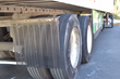 Eco-flaps were installed to make the trailer more aerodynamic and to further fuel mileage.
