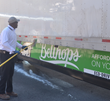 Detail Xperts came out to clean the tractor-trailer using their eco-chemicals.