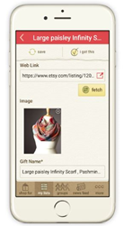 Giftster Mobile app for Android & iPhone