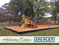 Cherry Valley commercial playground structure from APCPLAY