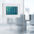 imageHOLDERS develop unique solution for glass mounting tablet enclosures