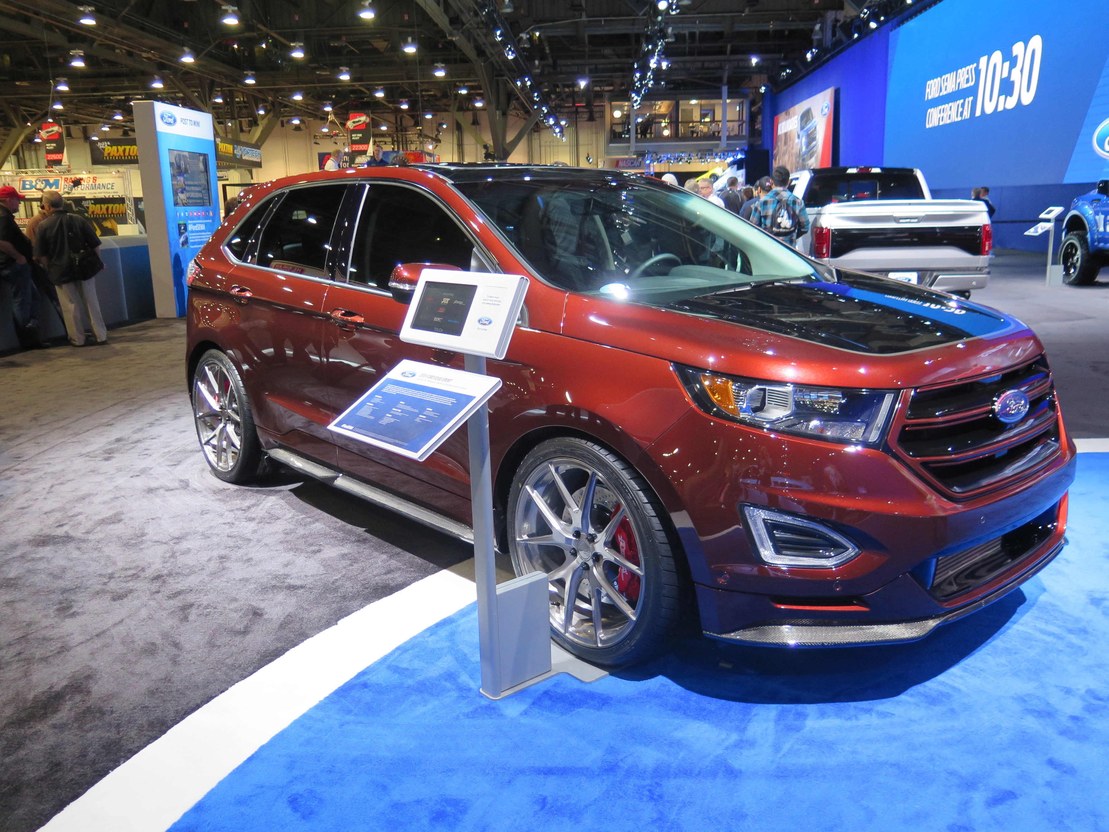 Both A Webasto Hollandia  Inbuilt Sunroof And A Webasto Thermo Top Evo Engine Pre Heater Were Installed In The Ford Edge Sport Nicknamed Ignition