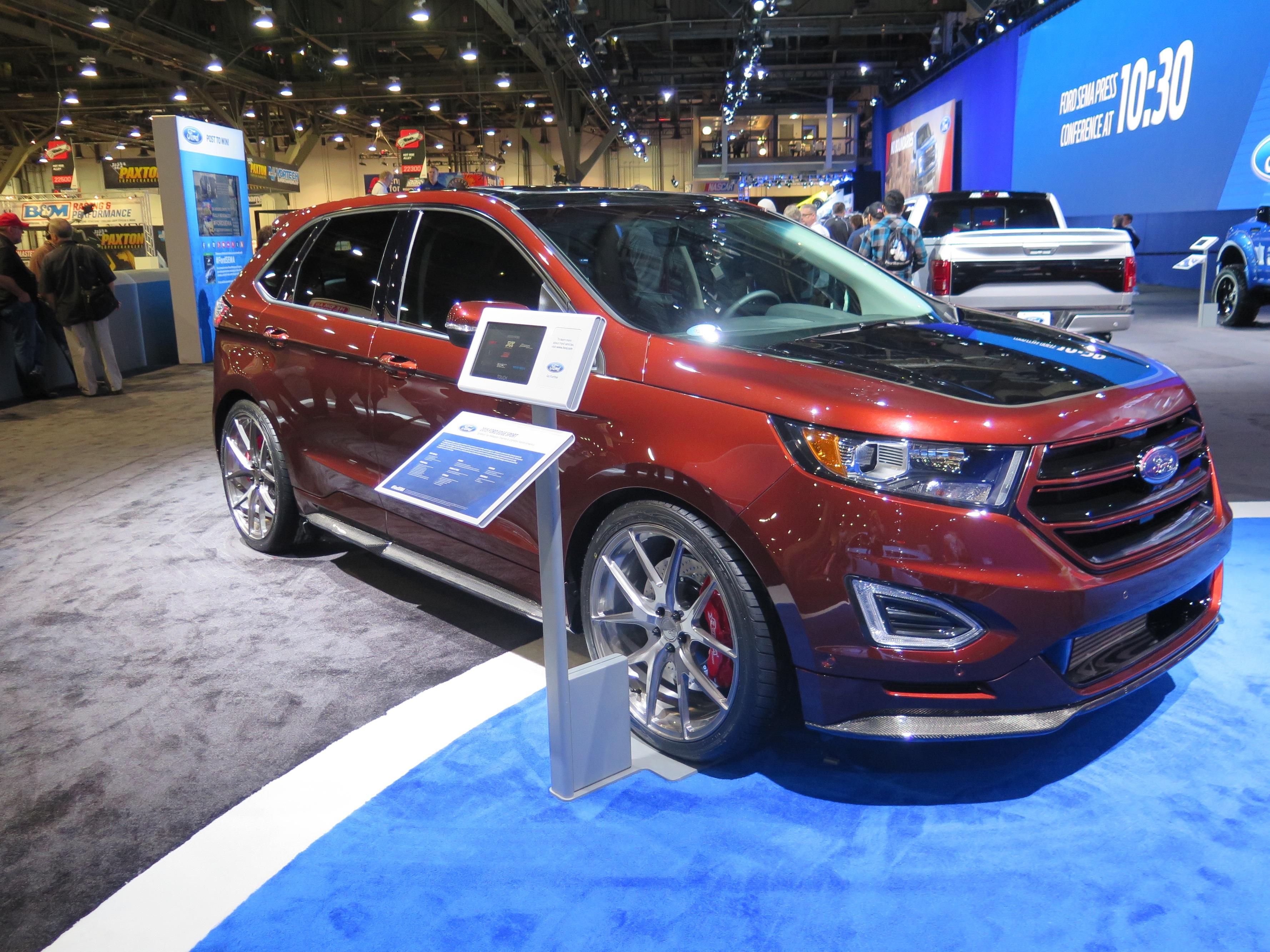 The Webasto Ford Edge Sport Debuts At Sema 2015 And Drives