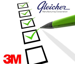 Gleicher Manufacturing Corp is a leading specialty converter and distributor of engineered fastener materials and adhesives