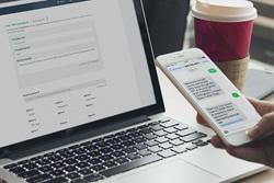textlab SMS Marketing Software's web interface
