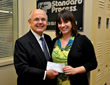 Standard Process Inc. Presents Scholarship to Cleveland University-Kansas City Student