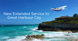 Tropic Ocean Airways Expands Popular Great Harbour Cay Service