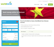 Bank transfers to Vietnam with WorldRemit