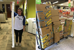 Loyaltyworks was able to contribute over 100 baskets to Agape's Great Thanksgiving Basket Giveaway in order to help Atlanta's disadvantaged.