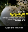 Music Choice Continues the Holiday Celebration