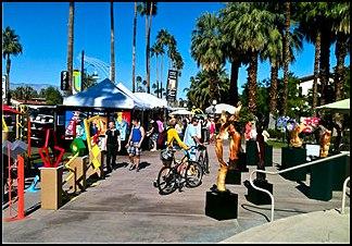 Desert arts festival brings palm springs homebuyers for Palm springs craft fair