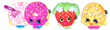 The Shopkins Color n' Create Activity Plush offer kids a cuddly and collectible friend that can be designed and decorated front to back, then washed and doodled all over again!