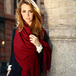 Cashmere throws, capes, sweaters and more for woman