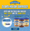 "Peanut Butter & Co. Announces ""25 Days of Holiday Surprises"" Sweepstakes"