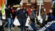 Officers from the 52 Precinct and Students from Long Island Lend a Helping Hand