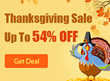 Uo to 54% OFF Macgo Thanksgiving Sale 2015