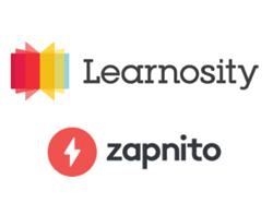 Learnosity and Zapnito Logos