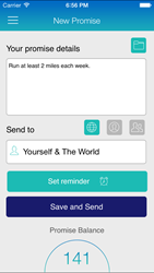 New iPhone App Offers Unique Way to Share Goals and Receive Global Support