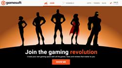 GameSoft.com landing page