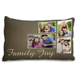 Personalized photo pillowcases complete any home decor