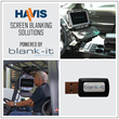 Havis Introduces Screen Blanking Solutions Powered by Blank-It to Reduce Driver Distraction