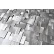 Eden Mosaic Tile 3D Raised Cobblestone Pattern Aluminum Mosaic Tile