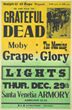 Avid Collector Announces His Search for Original 1966 Grateful Dead Santa Venetia Armory Boxing Style Concert Posters