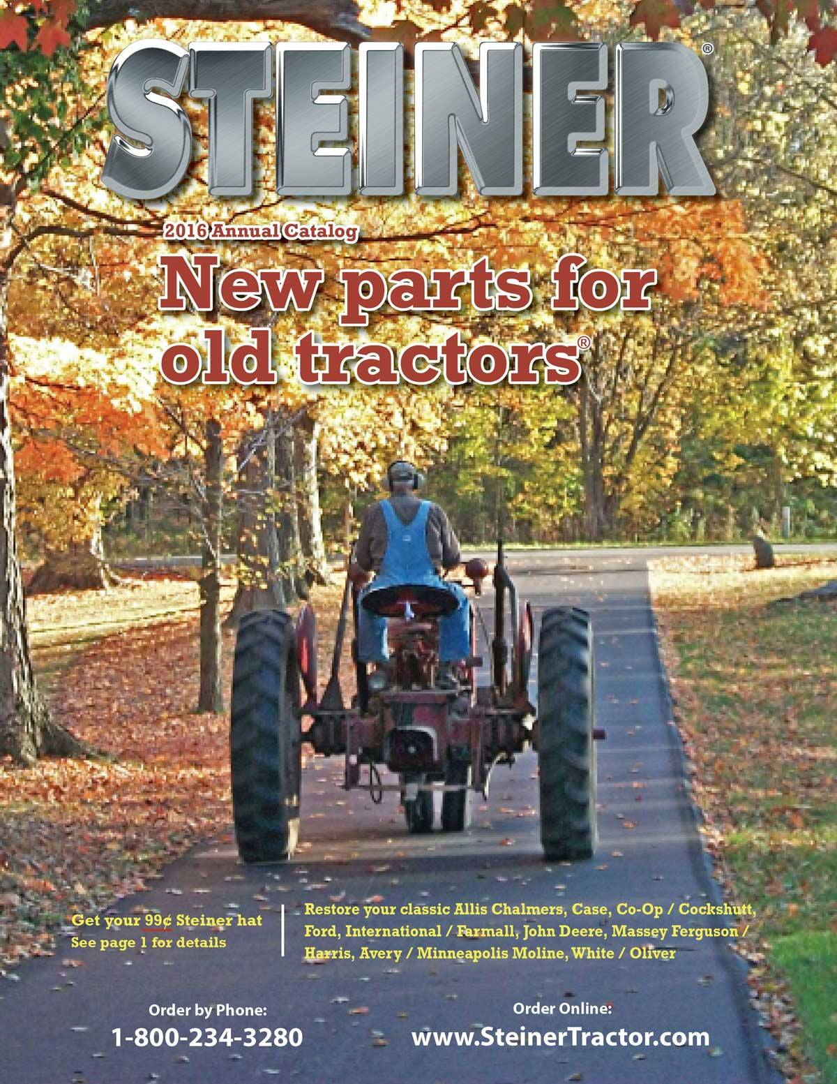 Steiner Tractor Parts Releases 2016 Tractor Parts Catalog