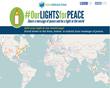 Sim Shalom Rabbi kindles global #OurLightsForPeace project