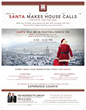Santa comes to Foothill Ranch, CA this December to spread joy and gain donations of canned food for families in need.