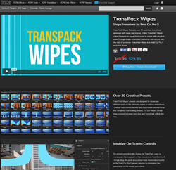 Pixel Film Studios TransPack Wipes Plugin.