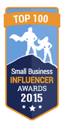 Small Business Influencer Award - Top 100 Champion Dasheroo