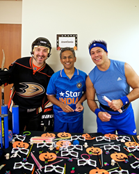 allied anesthesia physicians dressed in costumes for halloween