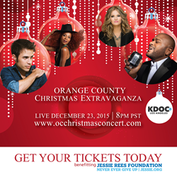 The Orange County Christmas Extravaganza 2015 will be nationally broadcast and feature American Idols Ruben Studdard and Kris Allen, along with Idol alums Ayla Brown, Paris Bennett, Pia Toscano, Elliott Yamin, Tamyra Gray