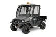 The rental-ready Carryall 1500 utility vehicle features Club Car's IntelliTrak all-wheel drive system that senses the ground it's on and automatically shifts to meet conditions.