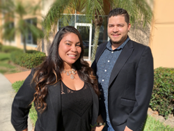 Vanessa Anderson & Damian Sanchez hold management roles at Dygen, Moore and Scarry's new SEO SEM Search subsidiary.