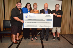 Keiser-University-Presents-$100,000-Check-to-Nicklaus-Children's-Health-Care-Foundation