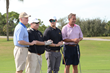 Keiser-University-Golf-Classic-Attendees-(L-R):-Bob-Griese,-Dr.-Keiser,-Robert-Keiser,-and-Fmr-Speaker-John-Boehner
