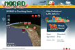 AGI and NORAD Track Santa in 2D and 3D Maps